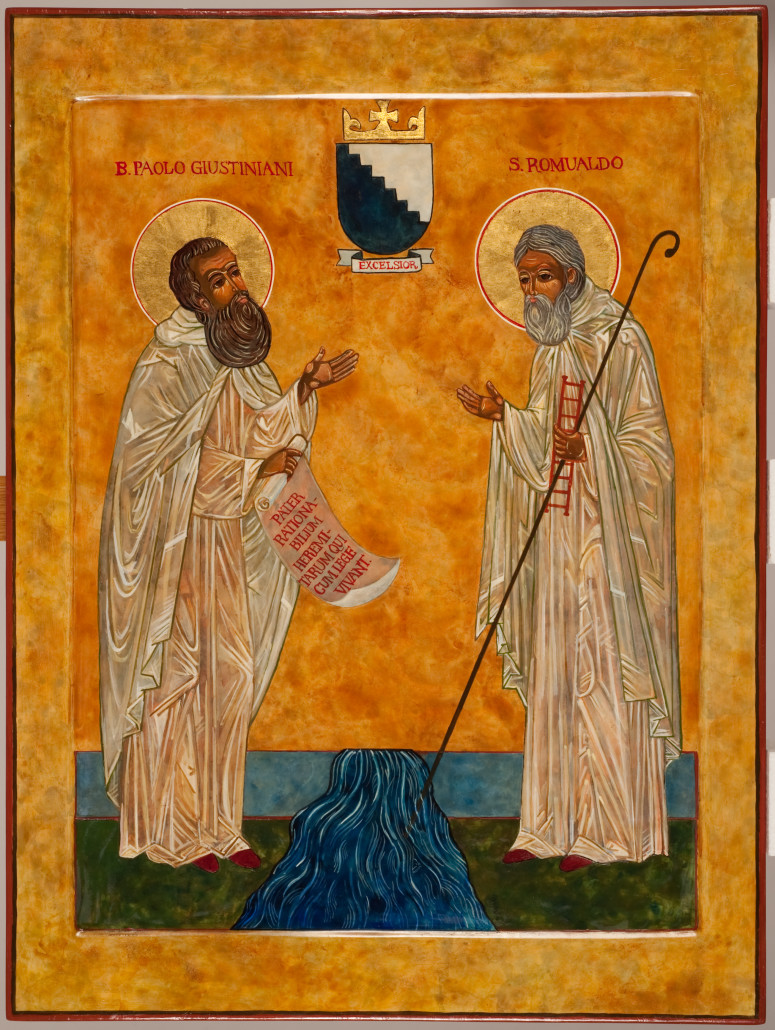 Icon of Bl. Paul and St. Romuald