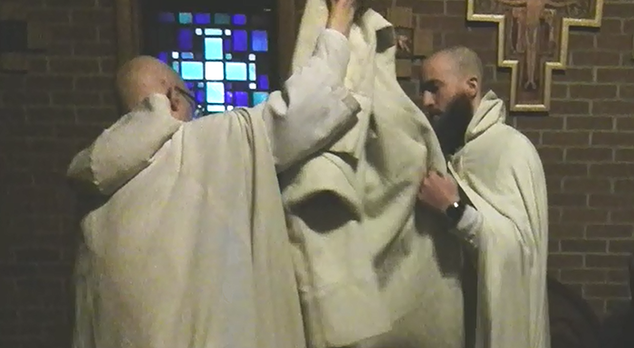 Investiture for the Novitiate